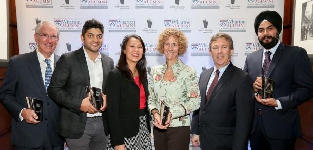 2017 Joseph Wharton Awards Dinner: Four Alumni inspire fellow alumni!
